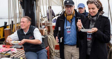 Saint-Malo, cuisine corsaire, bateau Le renard de Saint Malo.